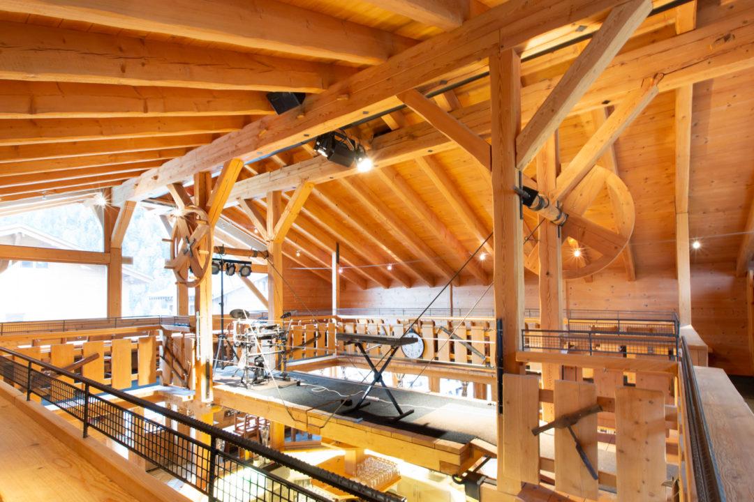 Sonorisation du Bar après-ski Chez Florioz à Grimentz