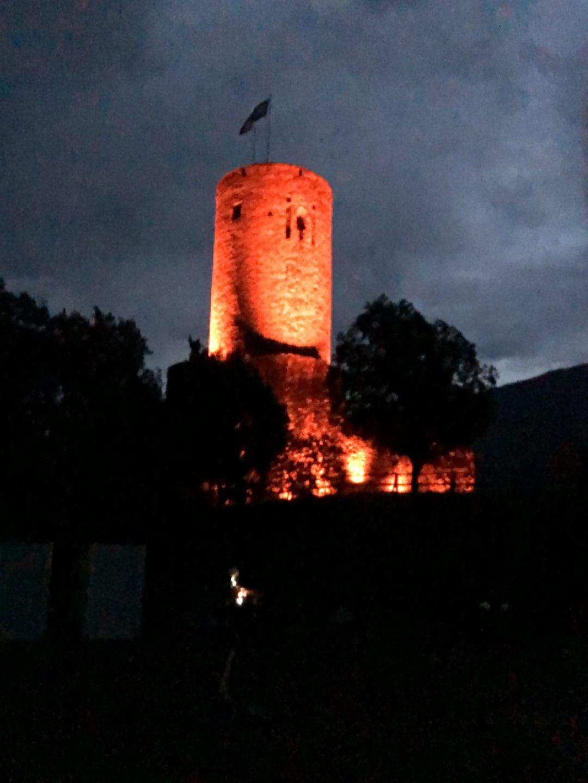 1er août 2020 Château de la Bâtiaz à Martigny