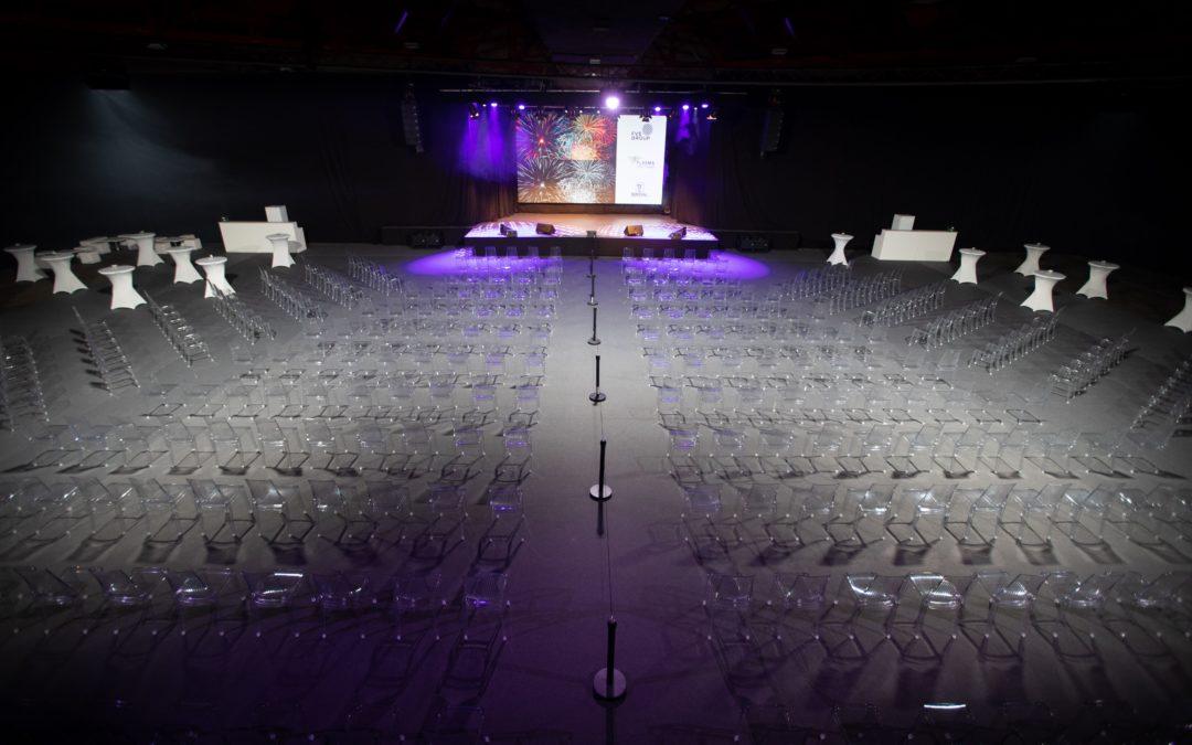 Salle de conférence Covid compatible