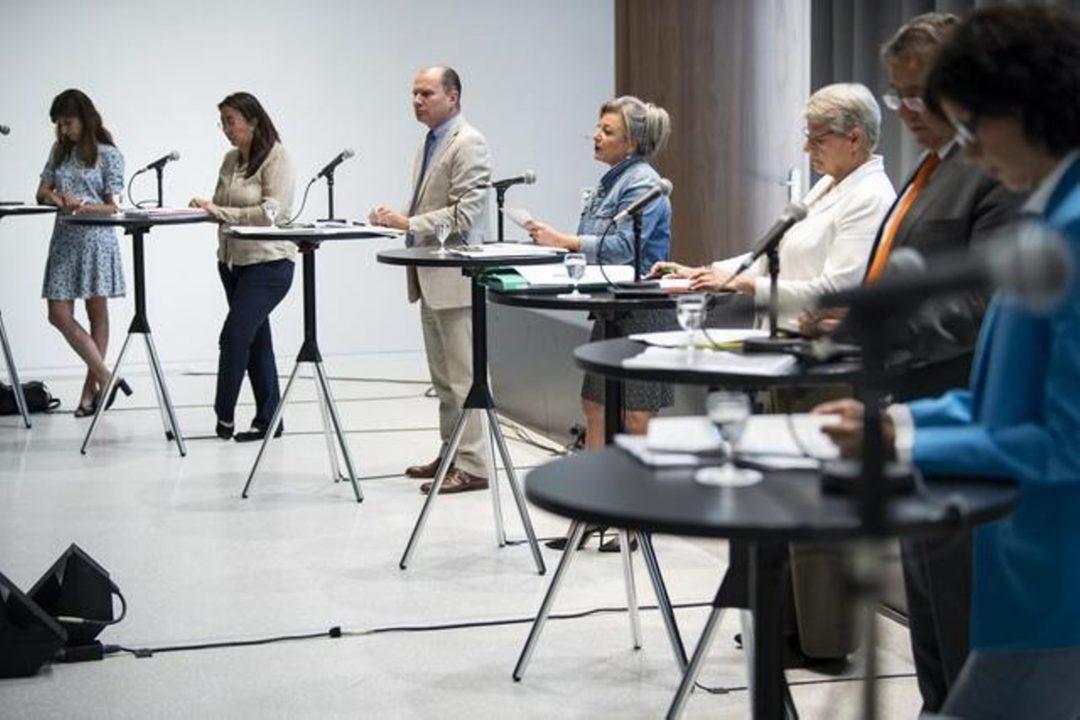 Conférence de Presse Conseil d'état Vaudois