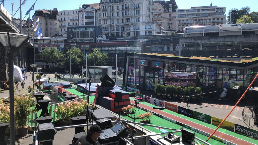 Athlétissima 2020 – Place de l'Europe