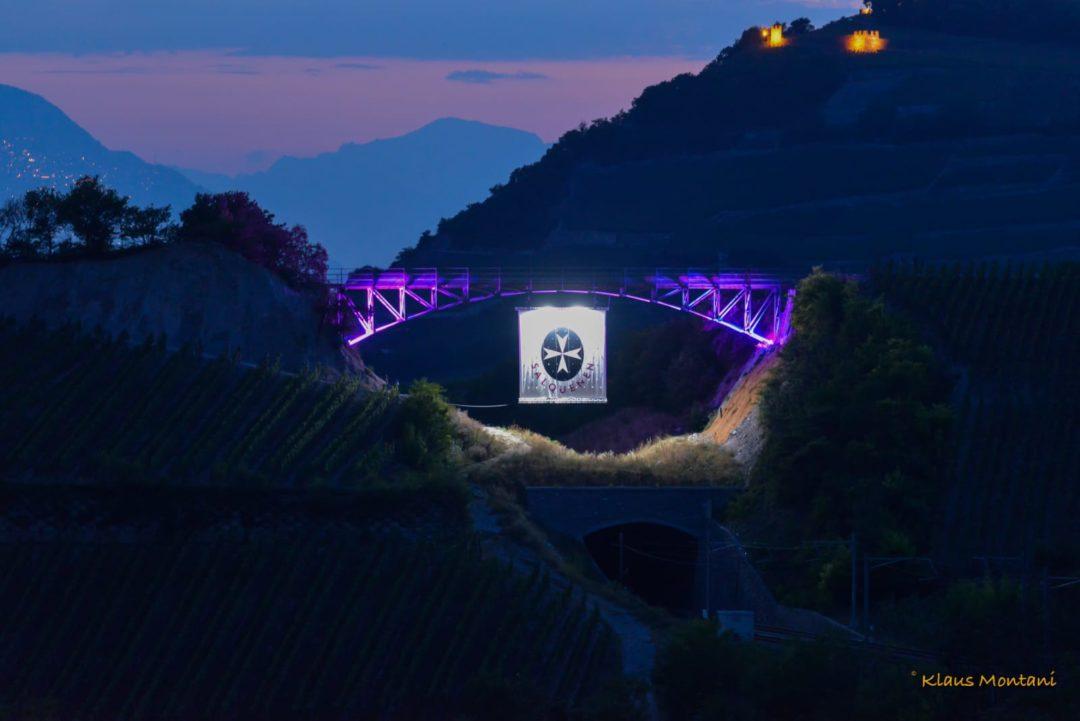 Inauguration du Pont de Salgesch/Salquenen