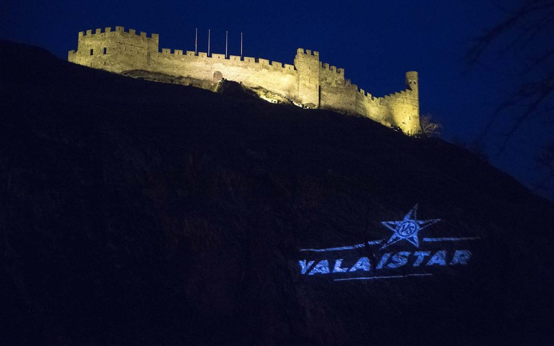 ValaiStars 2017 – projection du logo