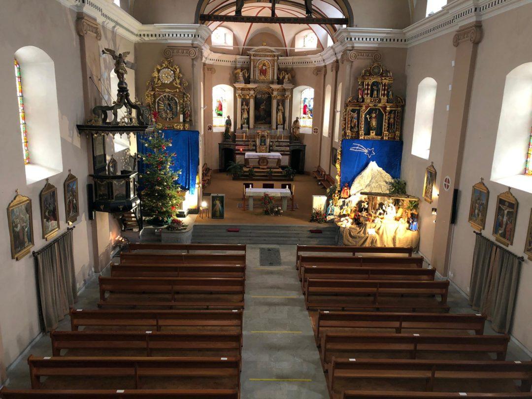 Sonorisation de l'Eglise de Vissoie