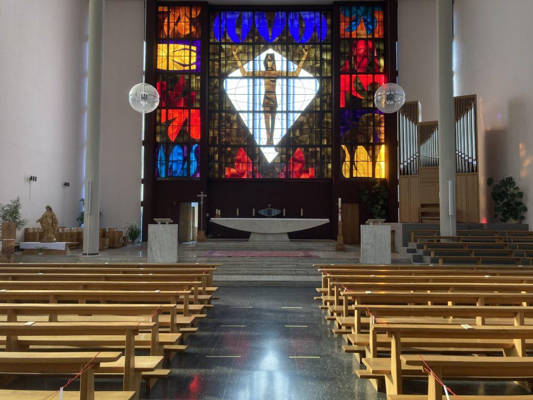 Remplacement de la sonorisation de l'Eglise du Sacré-Coeur de Sion