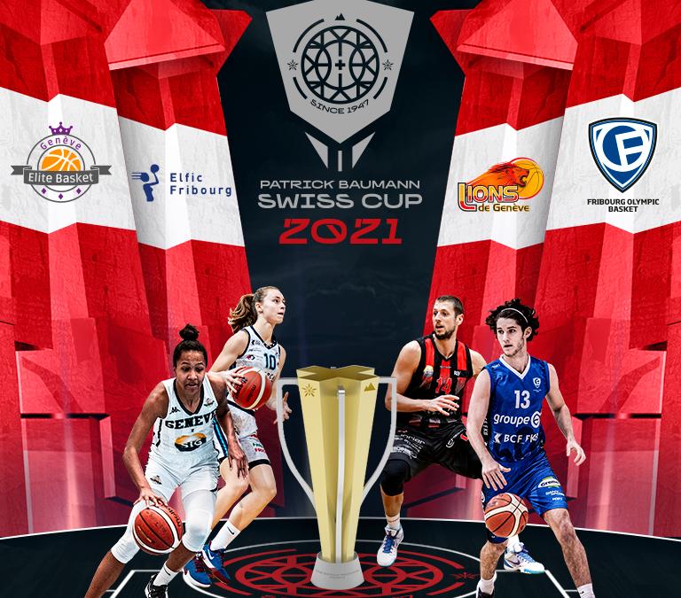 Patrick Baumann Swiss Cup – Swiss Basketball 2021 à Fribourg